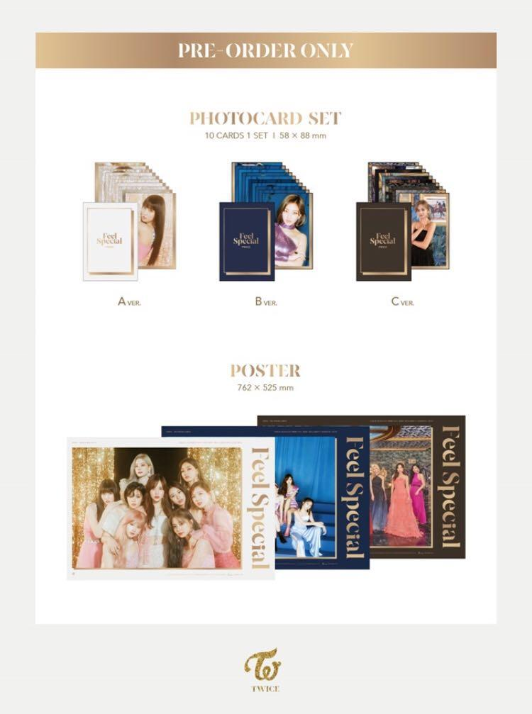 🌺TWICE🌺Feel Special ❄️Have pre-order benefits❄️ ‼️Buy more than 1 will gets discount