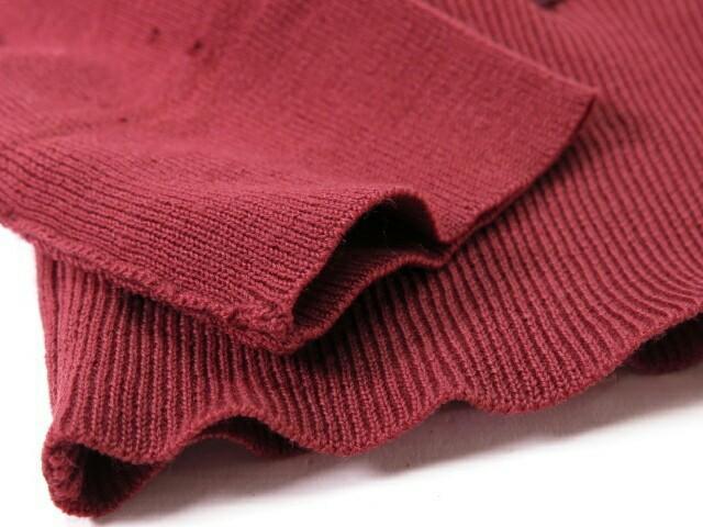 vintage hermes silk & wool sweaters