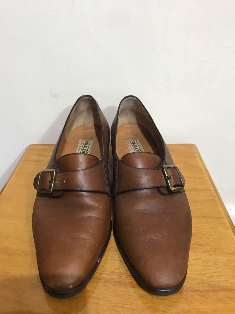 vintage valleverde 義大利製真皮鞋 26cm