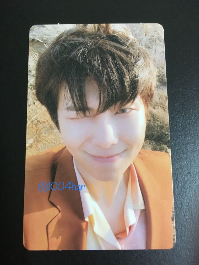 [WTS] Bts Official Photocard- Love Yourself 'Tear ' Y version