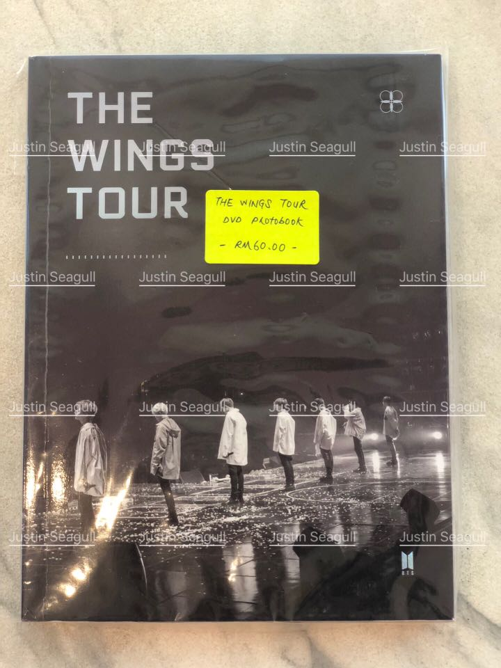 WTS BTS THE WINGS TOUR PHOTOBOOK