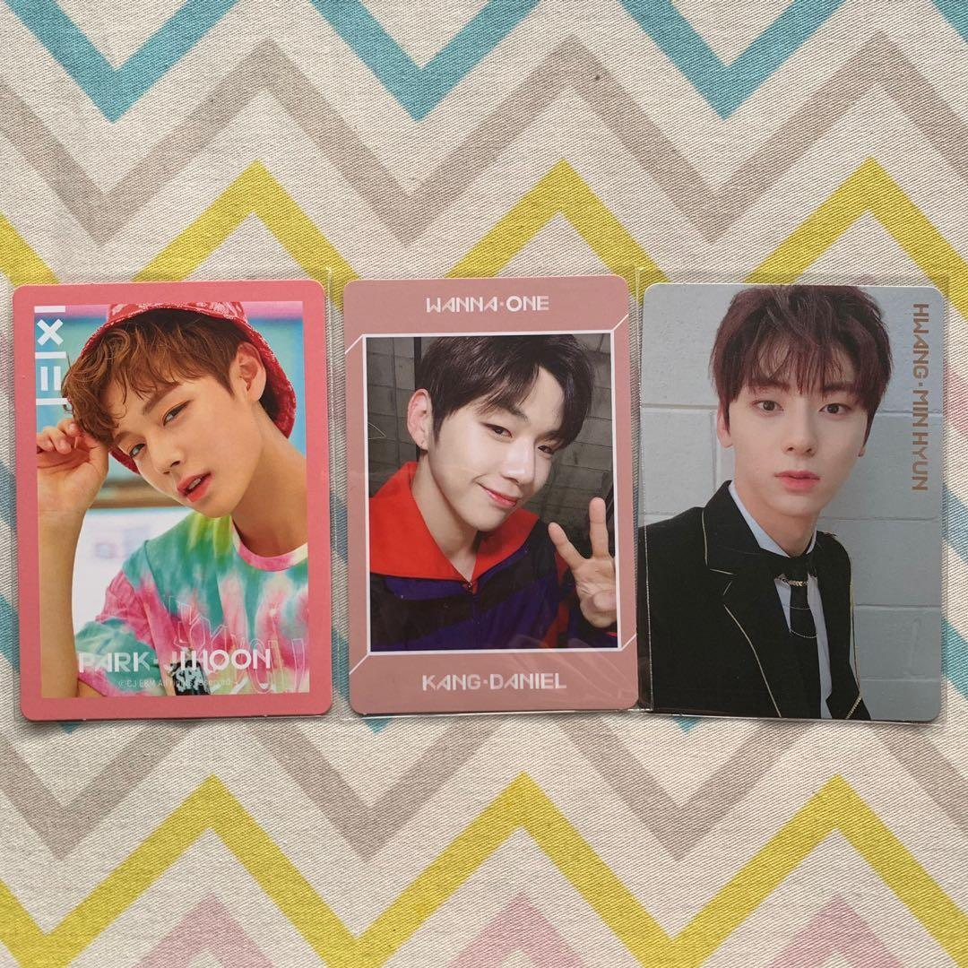 Wts Wanna One Photocards Pc