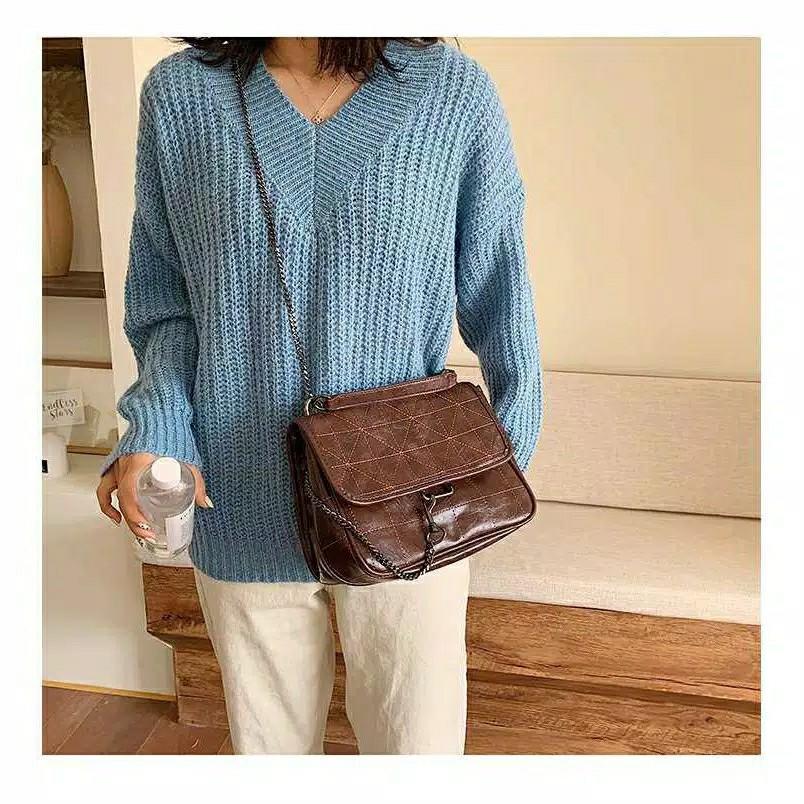 ZR Leather slingbag