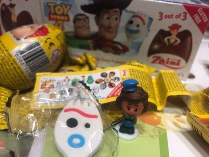 健達出奇蛋玩具總動員玩偶不已無巧克力
