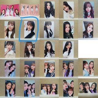 [WTT/WTB/WTS] Izone iz*one color*iz photocards