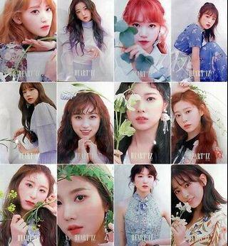 [WTS] Full set Izone iz*one heart*iz official posters
