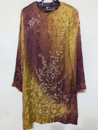 Exclusive batik silk kurung