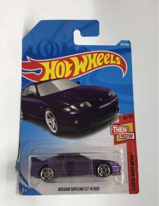 Hotwheels nissan r32&r33 (lot)