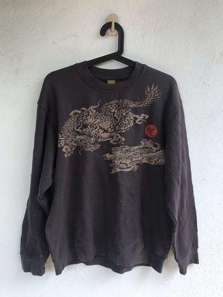 sion l japan style sweater Sweatshirt sukajan