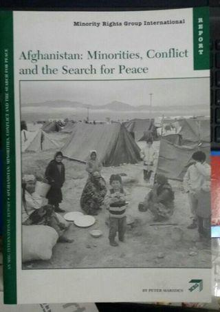 Afghanistan:Minorities,Conflict and the Search for Peace