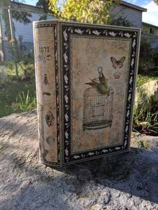 Decorative faux book