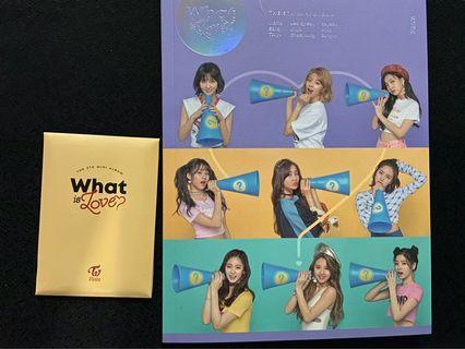 Twice - What Is Love (5th Mini Album) B ver. (UNSEALED)