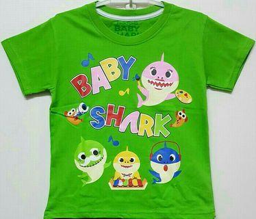 KAOS ANAK BABY SHARK 7 THN