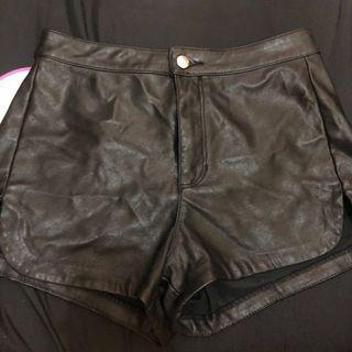 H&M Leather Hotpants