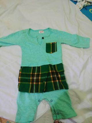 Baju Melayu Bayi