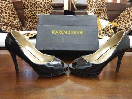 Karen & Chloe Black High Heels