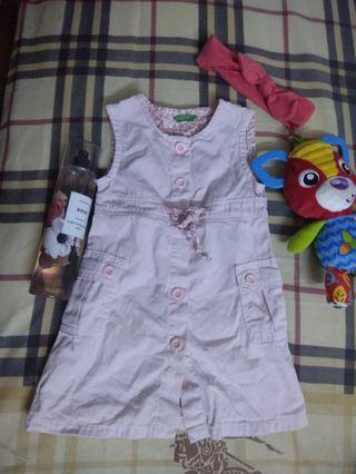 Pinky dress by benetton