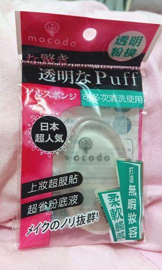 mocodo BB/CC粉底液 透明粉撲