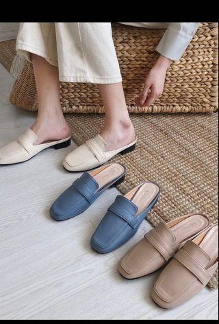 穆勒鞋(卡其色)