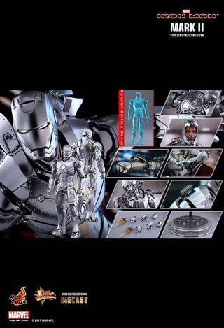 HOT TOYS IRON MAN MARK II 1/6TH SCALE COLLECTIBLE FIGURE (Special Edition)