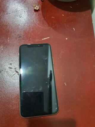 IphoneX faulty lcd