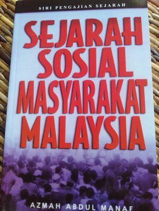 Sejarah sosial masyarakat malaysia