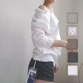白色穿搭 全新上衣 白色上衣  含吊牌 五折清衣櫃