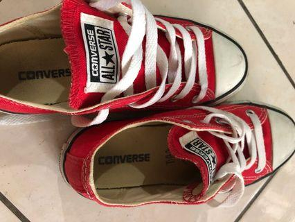 Converse Sneakers - original for kids (red color)
