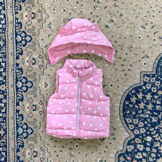 Baby Sleeveless Puff Jacket