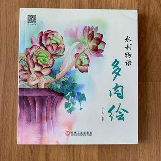 Succulent watercolour guide