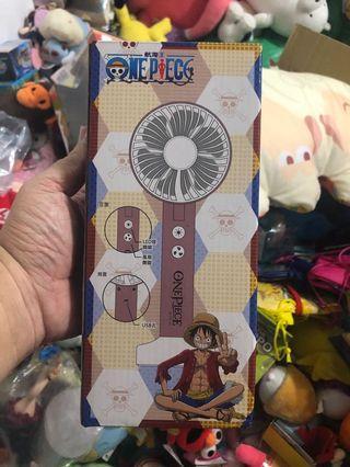 航海王海賊王魯夫one pieceLED風扇兩用有付充電線
