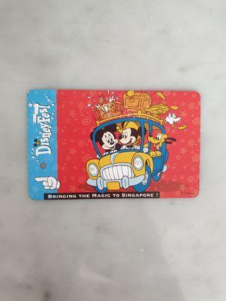 DisneyFest - Ezlink Card