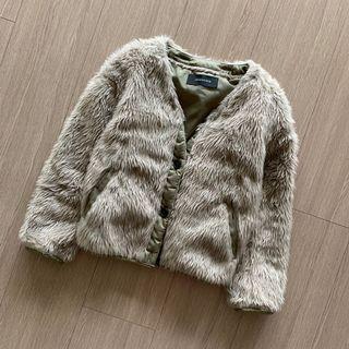 Jeanasis 絨毛裝飾 泰迪熊外套 #五折清衣櫃