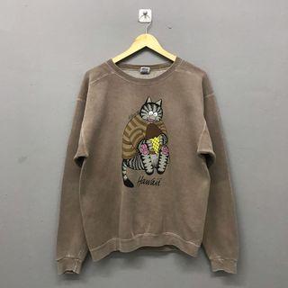 Crazy Shirt Hawaii Brown Sweatshirt