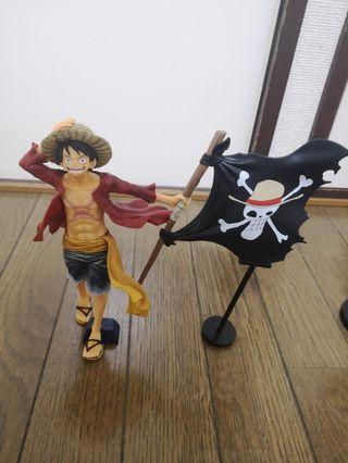 One Piece Luffy 'Magazine' Action Figure