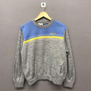 Vintage Adidas Trefoil Gray Sweatshirt