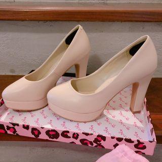 ANNS 超好走高跟鞋 婚鞋 👠 10.5cm