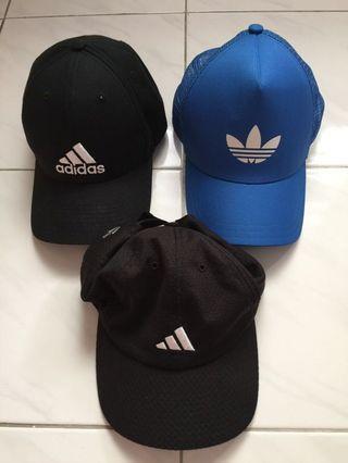 Assorted Adidas Caps
