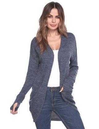 BLUE gradation lightweight outerwear