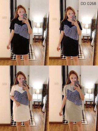 Black Dress Freesize  (New)
