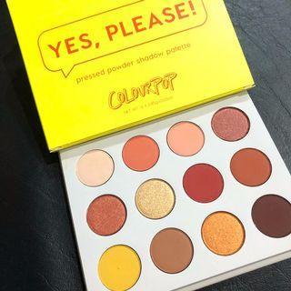 LOOKING FOR USED Yes please eyeshadow palette