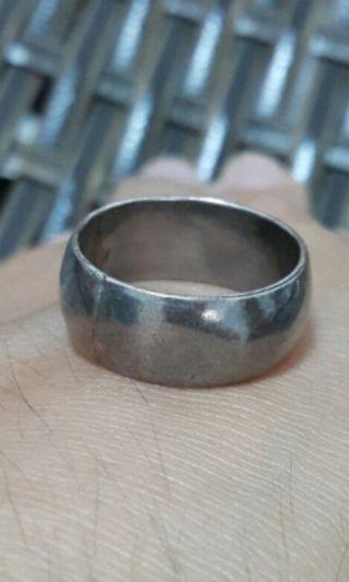 【廣結良源】 素面銀飾戒指