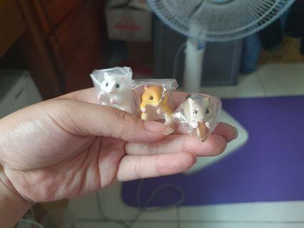 鼠~倉鼠~可可愛愛之鼠~扭蛋小物~轉蛋系列~療癒~