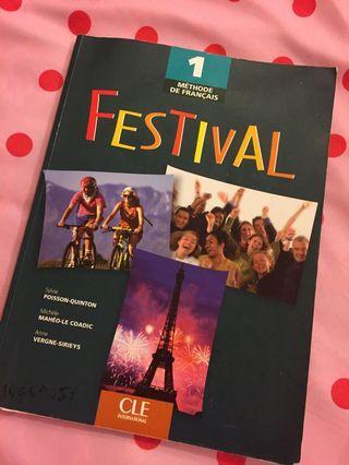 Festival 法文用書 法語 教科書 課本