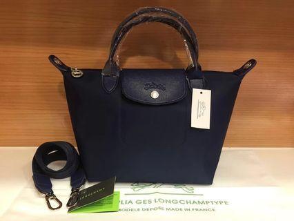 Longchamp Le Pliage Neo PU Handle size S (Replica)
