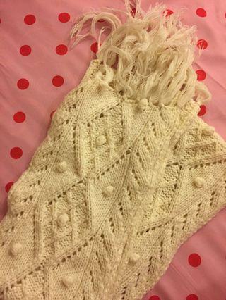 白色氣質圍巾🧣