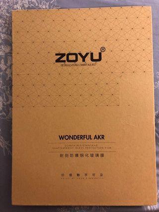 Zoyu 耐刮防爆鋼化玻璃膜 ipad