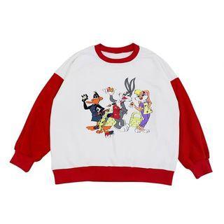 🐷預購  童趣卡通圓領寬鬆上衣
