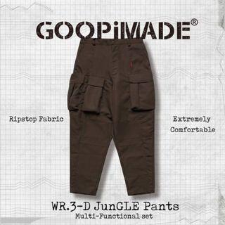 (交流3號或出售)Goopi Wr.3-D Jungle Pants 駝色2號