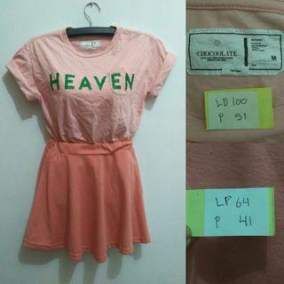 Pink Top&skirt (mango, zara, h&m)